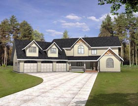 Country House Plan 85320 Elevation