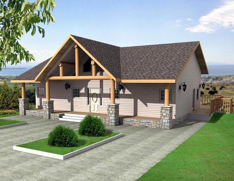 Craftsman House Plan 85322 Elevation