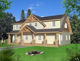 House Plan 85325 Elevation