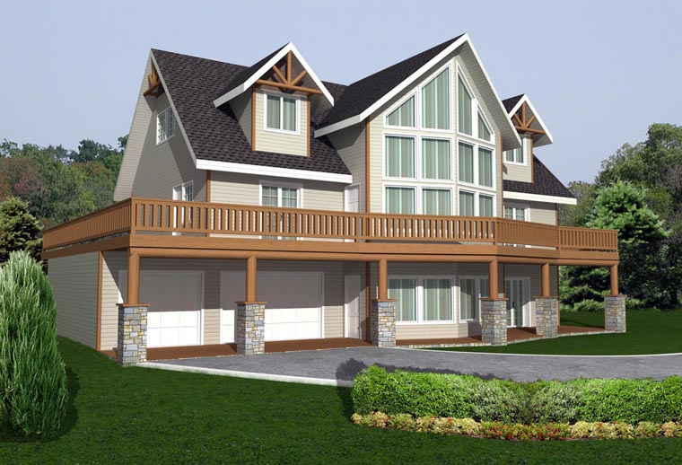 House Plan 85327 Elevation