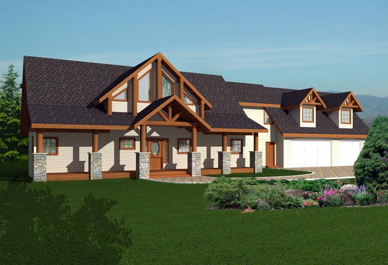 House Plan 85328 Elevation