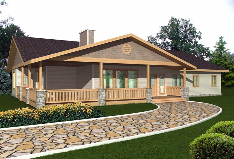 House Plan 85329 Elevation