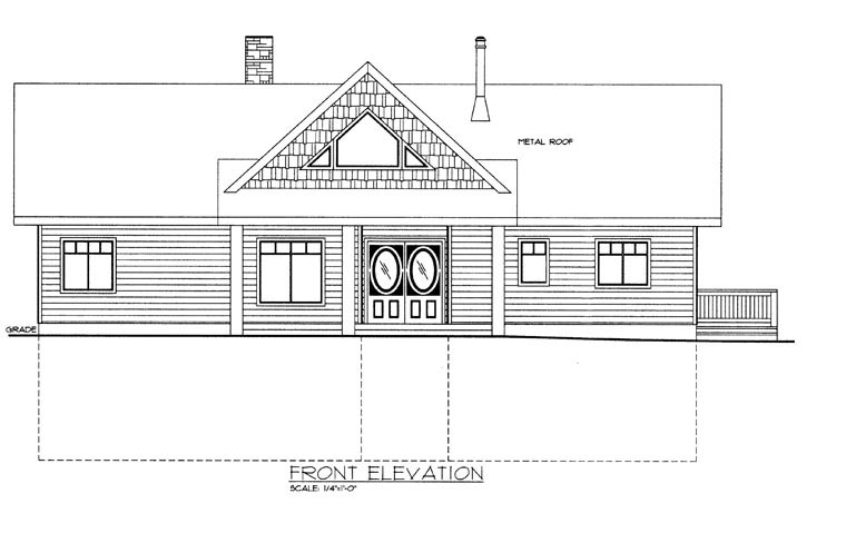 House Plan 85331 with 2 Beds, 3 Baths Picture 1