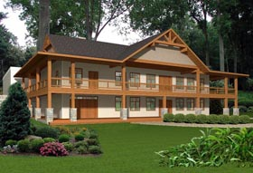 House Plan 85332 Elevation