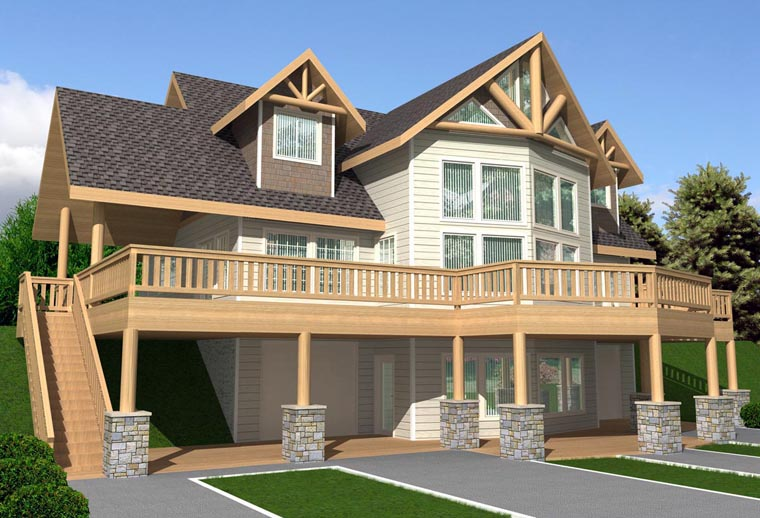 House Plan 85337 Elevation