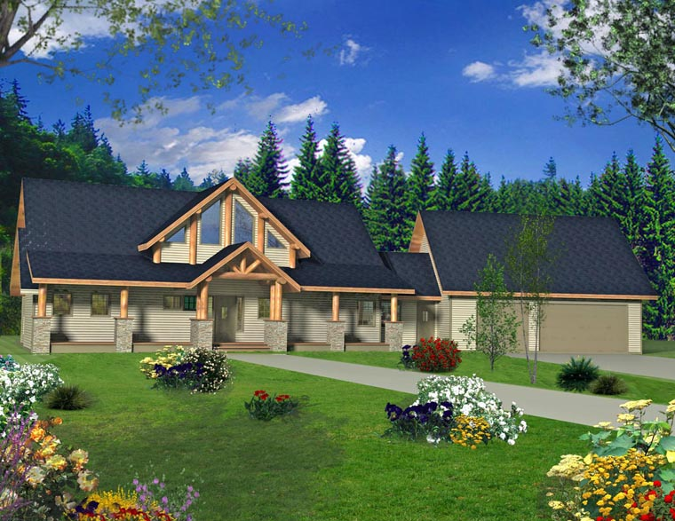 House Plan 85340 Elevation
