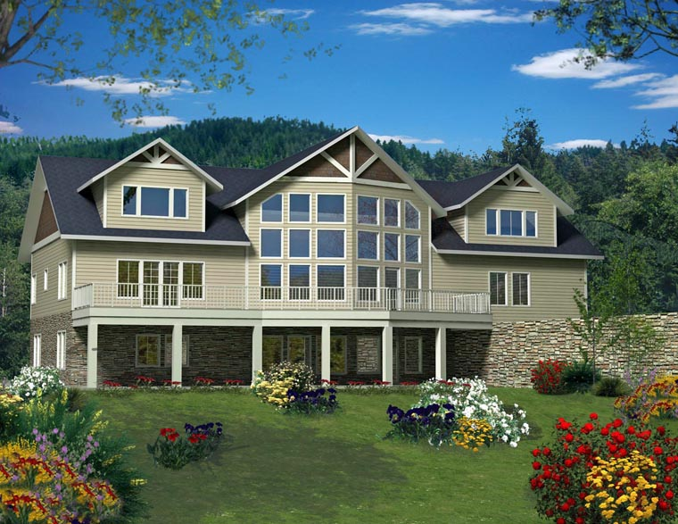 House Plan 85342 Elevation