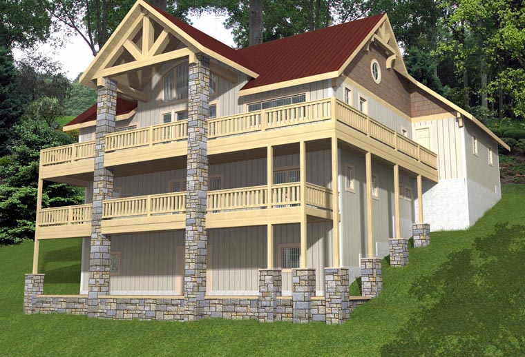 Country House Plan 85344 Elevation