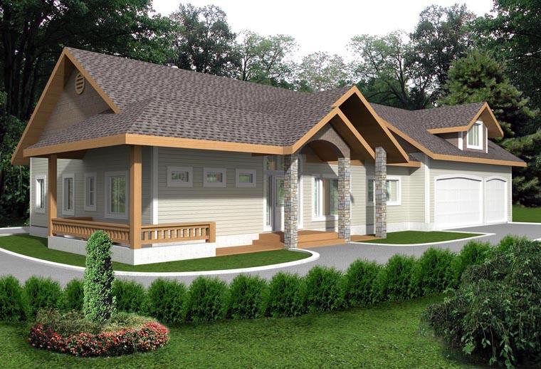 House Plan 85345 Elevation