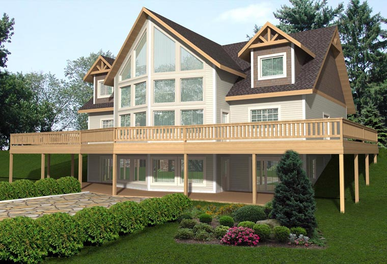 House Plan 85346 Elevation