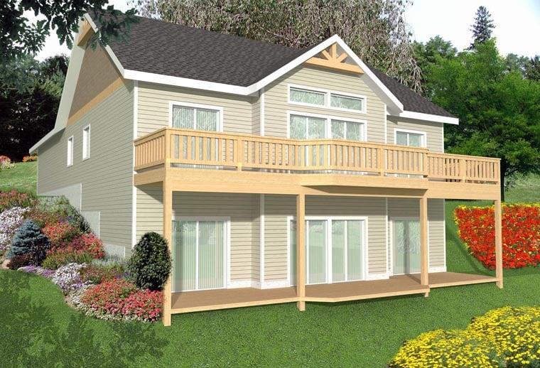 House Plan 85347 Elevation