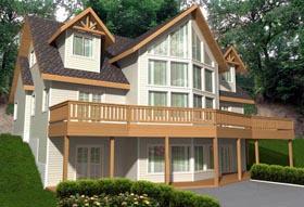 House Plan 85348 Elevation