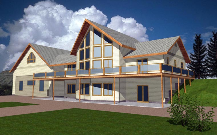 Coastal House Plan 85349 Elevation