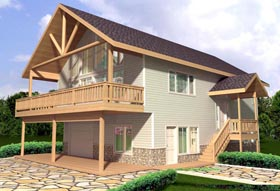 House Plan 85350 Elevation