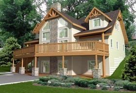 House Plan 85351 Elevation