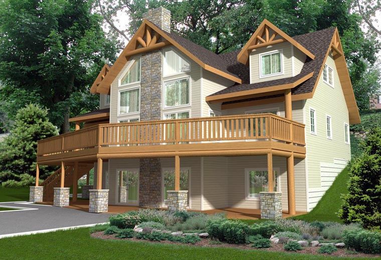 House Plan 85351 Elevation