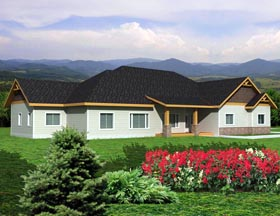 House Plan 85354 Elevation