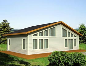House Plan 85358 Elevation
