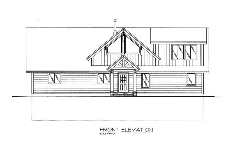 Craftsman House Plan 85359 with 3 Beds, 3 Baths, 2 Car Garage Picture 2