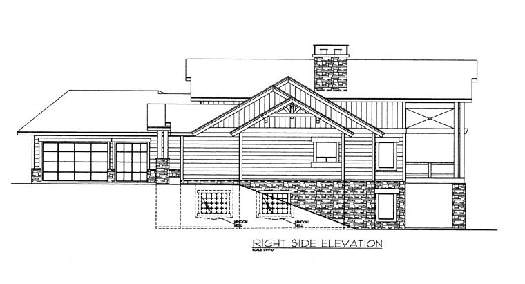 House Plan 85361 with 4 Beds, 4 Baths, 3 Car Garage Picture 2