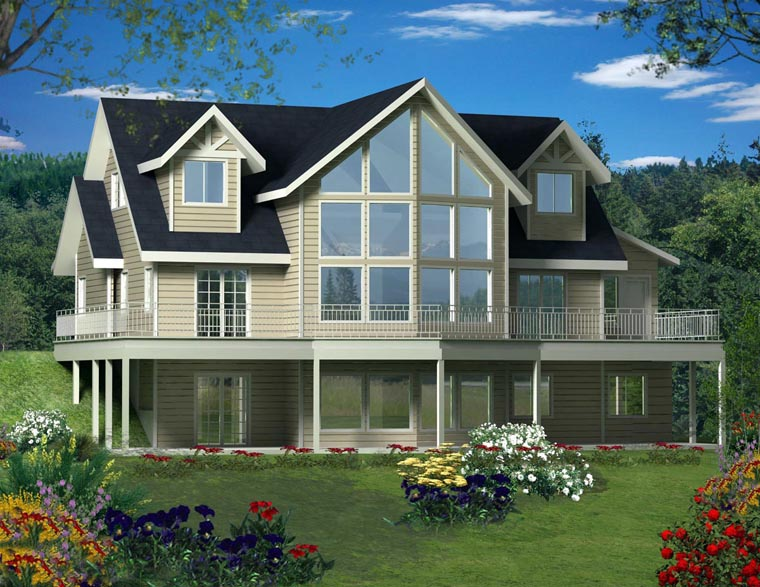 House Plan 85364 Elevation