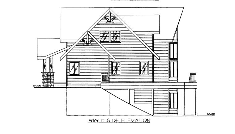 House Plan 85364 with 3 Beds, 3 Baths, 2 Car Garage Picture 2