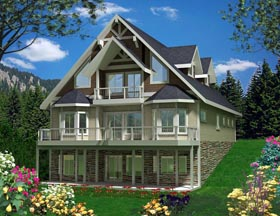 House Plan 85365 | Style Plan with 2354 Sq Ft, 3 Bedrooms, 3 Bathrooms, 2 Car Garage Elevation
