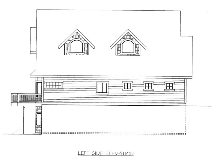 House Plan 85365 with 3 Beds, 3 Baths, 2 Car Garage Picture 1