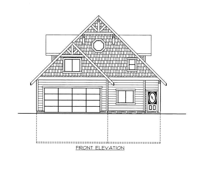 House Plan 85365 with 3 Beds, 3 Baths, 2 Car Garage Picture 3