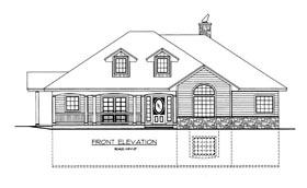 House Plan 85368 Elevation