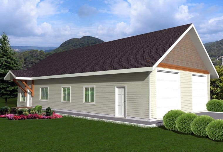 House Plan 85376 Elevation