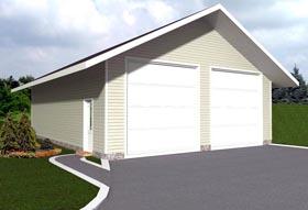 Garage Plan 85378 Elevation