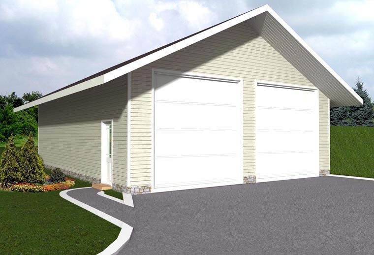 Garage Plan 85378 Elevation