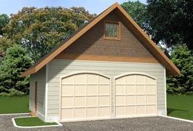 Garage Plan 85386 Elevation