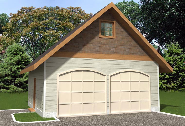 Garage Plan 85386 Elevation