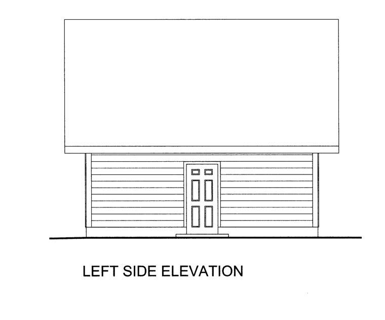 2 Car Garage Plan 85386 Picture 1