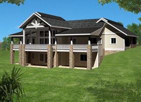 House Plan 85388 Elevation