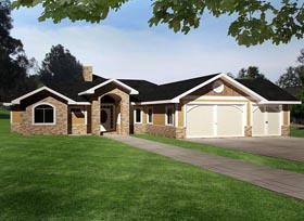 House Plan 85389 Elevation