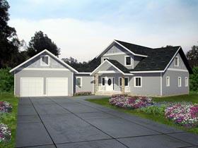 House Plan 85390 Elevation