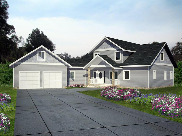 House Plan 85390 Elevation