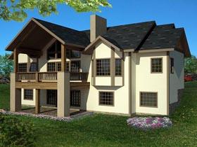 House Plan 85392 Elevation