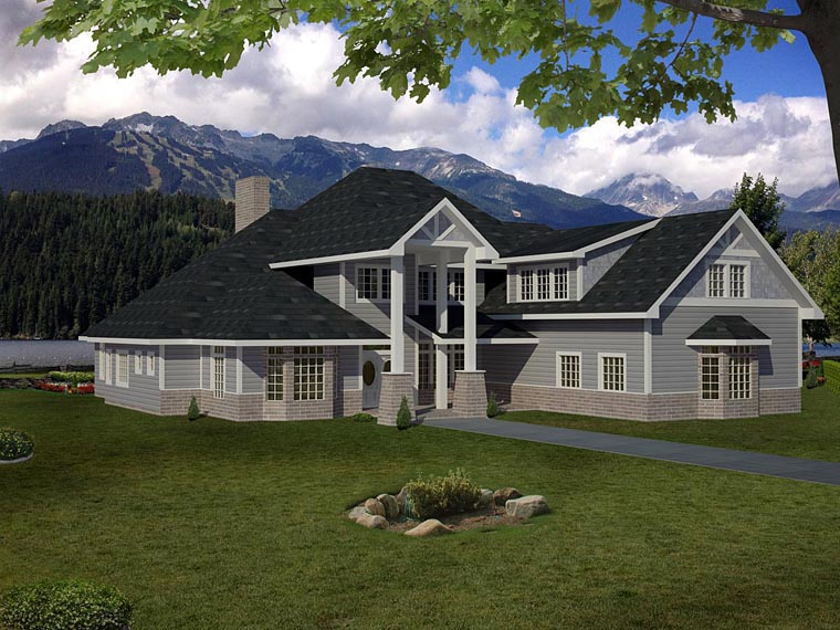 House Plan 85393 Elevation