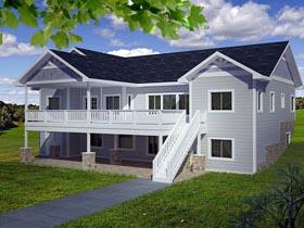 House Plan 85395 Elevation