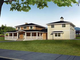 House Plan 85396 Elevation