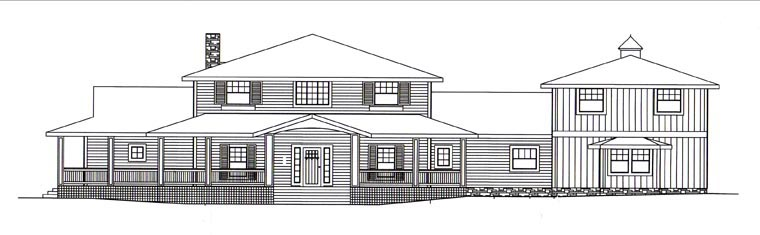 House Plan 85397 with 4 Beds, 5 Baths, 3 Car Garage Picture 3