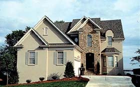 Traditional House Plan 85402 Elevation