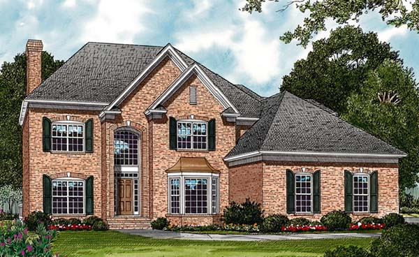 Traditional House Plan 85403 Elevation