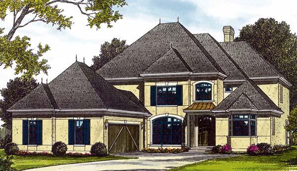 European House Plan 85404 Elevation