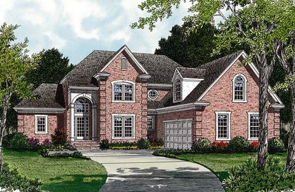 Traditional House Plan 85405 Elevation