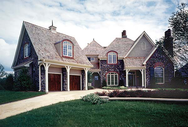 European House Plan 85407 Elevation